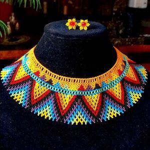 Jewelry - Necklace with matching earrings
